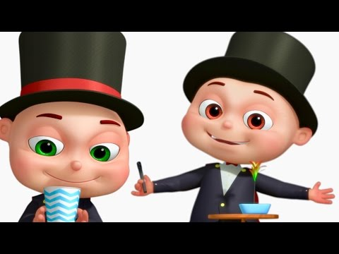 Learn Magic With Babies | Five Little Babies Collection |Cartoon Animation For Kids