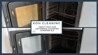 Koh Cleaning Starter Kit Review - Cleaning My Oven & More