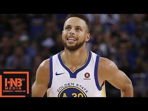 Golden State Warriors vs Brooklyn Nets 1st Half Highlights / Week 5 / 2017 NBA Season