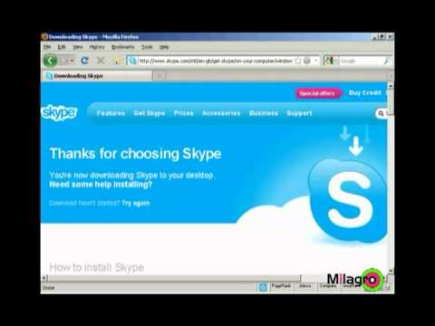 How To Register And Use Skype | Internet Marketing Tutorial | By Milagro Fusion Marketing