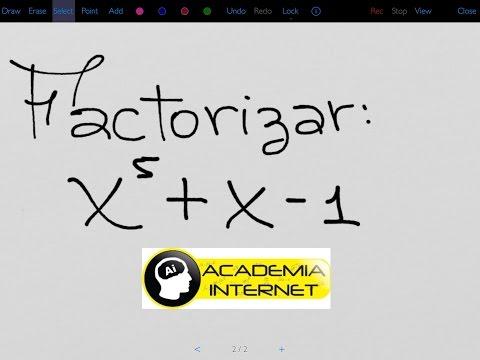 Sacar factor comun polinomios 2o eso