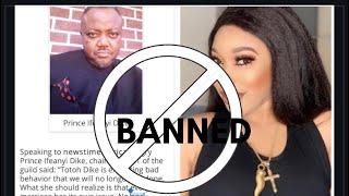 NIGERIA MOVIE INDUSTRY HAS BANNED TONTO DIKEH