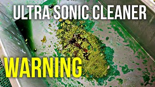 Resin 3D Printing - Ultra Sonic Cleaner Safety Warning