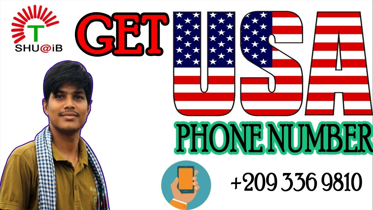 Get USA Phone Number For Free  Free phone number usa  get a free us phone number for