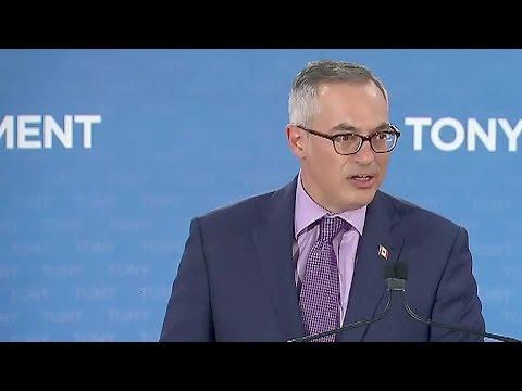 MP Tony Clement