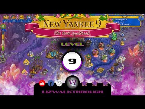 New Yankee 9 - Level 9 Walkthrough (The Evil Spellbook) |