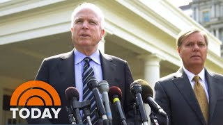 Sen. Lindsey Graham Reflects On John McCain's Legacy, Contentious Relationship With Trump | TODAY