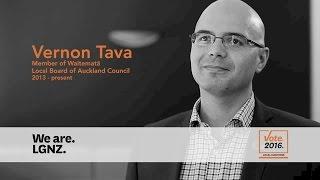 Vernon Tava, Member of Waitemata, Local Board of Auckland Council, 2013 - present