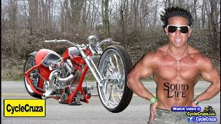 Douchebags Ride Chopper Motorcycles? | MotoVlog