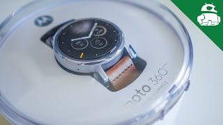 Moto 360 (2nd Gen) Unboxing and Initial Setup(Buy at Amazon: http://geni.us/3602nd | Read more: http://goo.gl/SkHMvB The second generation of the Moto 360 is here! Josh unboxes the new watch and gives ..., 2015-09-21T16:02:43.000Z)