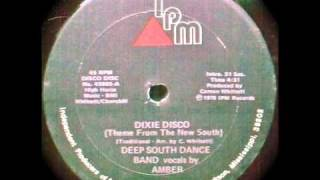 (Rare Disco) Amber and The Deep South Dance Band - Dixie Disco (Theme From The New South)