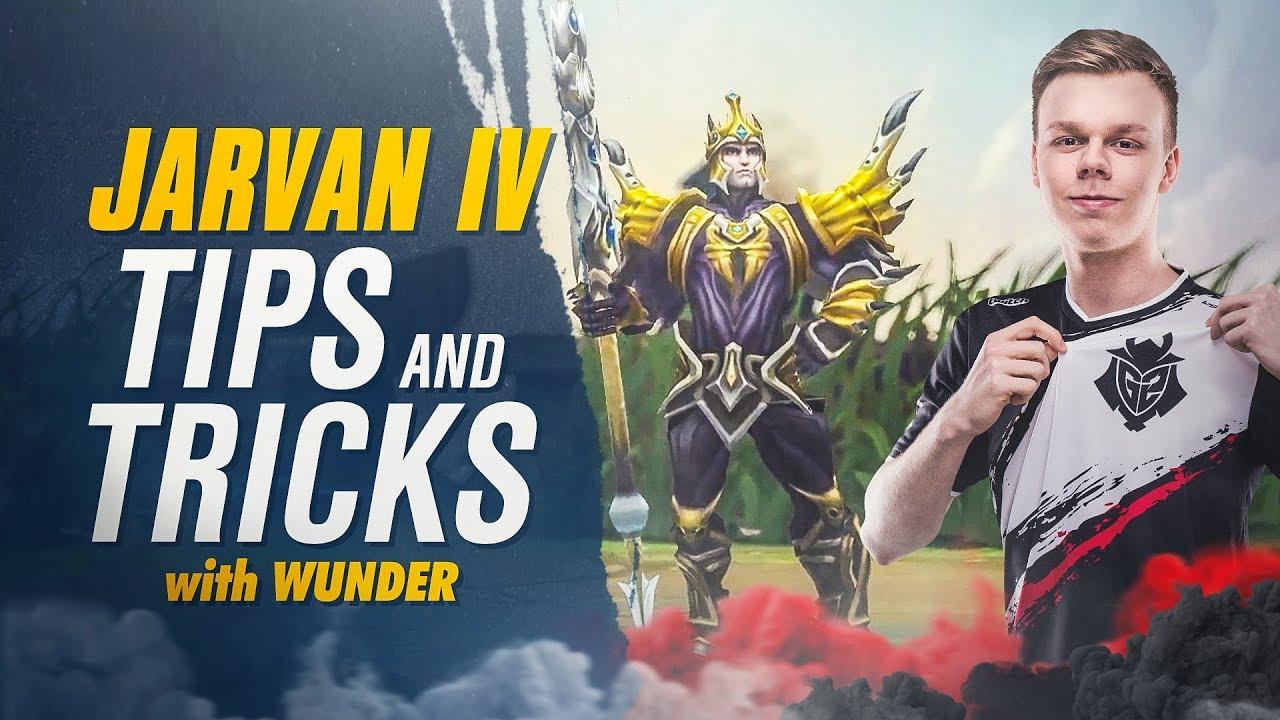 G2 Wunder | Jarvan IV Tips and Tricks