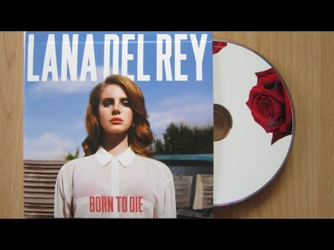 Lana Del Rey - Born To Die / unboxing cd deluxe edition /