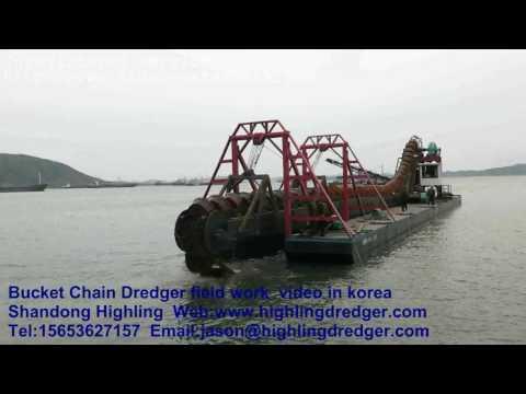 Bucket Chain Dredger