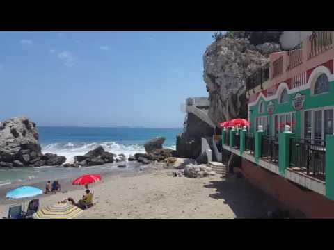 Catalan Bay / La Caleta beach, Gibraltar