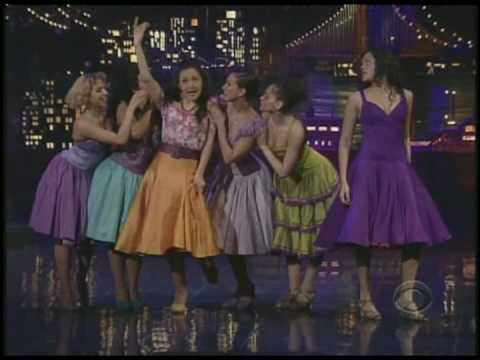 "West Side Story ""America"" Karen Olivo on Letterman"