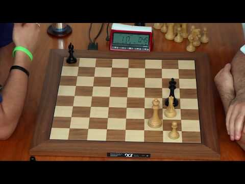 Kasparov Has 51 Second against Nakamura's 5 Min 57 Second Amazing Nail biting Game.