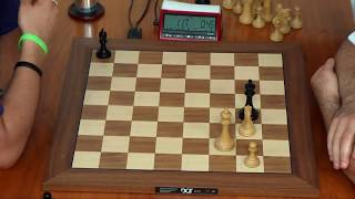 Kasparov Has 51 Second against Nakamura\'s 5 Min 57 Second Amazing Nail biting Game.