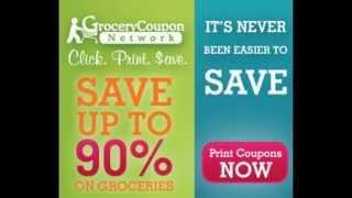 **Printable Food Coupons** Save 90% On Groceries!