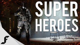 super heroes battlefield 4 multiplayer gameplay