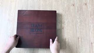 Đẳng cấp hơn với phiên bản Hộp gỗ album photobook (wood box premium)