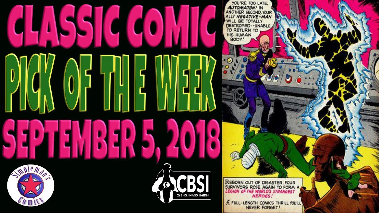 Classic Comic Book Pick of the Week September 5, 2019