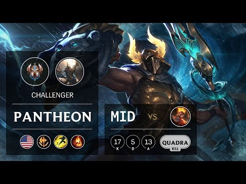 Pantheon Mid Vs Brand - NA Challenger Patch 10.2