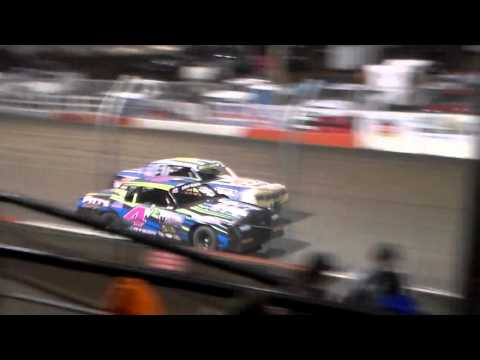 Hobby Stock Amain @ Beatrice Speedway Spring Nationals 03/12/16