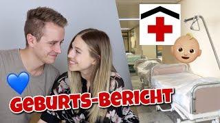 Unser GEBURTSBERICHT - Komplikationen & kurz vor Not - Operation.. 😔 | Bibi