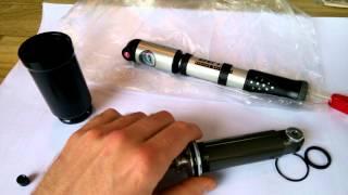 Полная разборка заднего амортизатора на велосипеде Kona Fastrax AF2 Fox Float  RP23 / Float R/RL/RC(Полная разборка заднего пневмо амортизатора на велосипеде, с рассказом об особенности разборки и смазки., 2015-06-28T14:20:18.000Z)