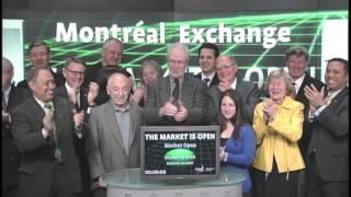 TD Waterhouse and Montreal Exchange (MX) open Toronto Stock Exchange, March 22, 2013.