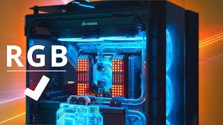 How To PROPERLY Add RGB To Your PC!