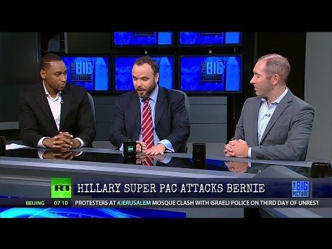 Full Show 9/15/15: Hillary Super Pac Attacks Bernie