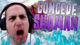 Concede Shaman | Un deck control funny fatto da me| Hearthstone kobolds and catacombs |GAMEPLAY ITA