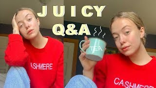 JUICY Q & A | How much $$ do I make? Kids? Am I religious??