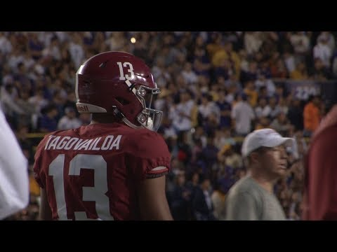 Alabama QB Tua Tagovailoa pushes closer to Heisman Trophy with stellar performance against #3 LSU