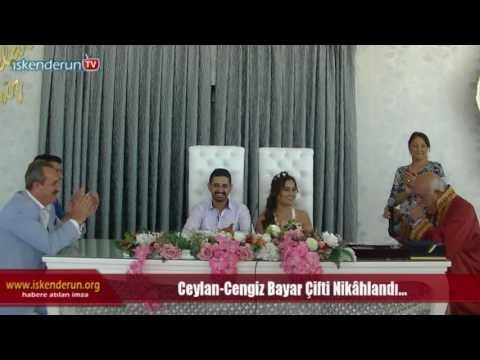 Ceylan Cengiz Bayar Çifti Nikahlandı...