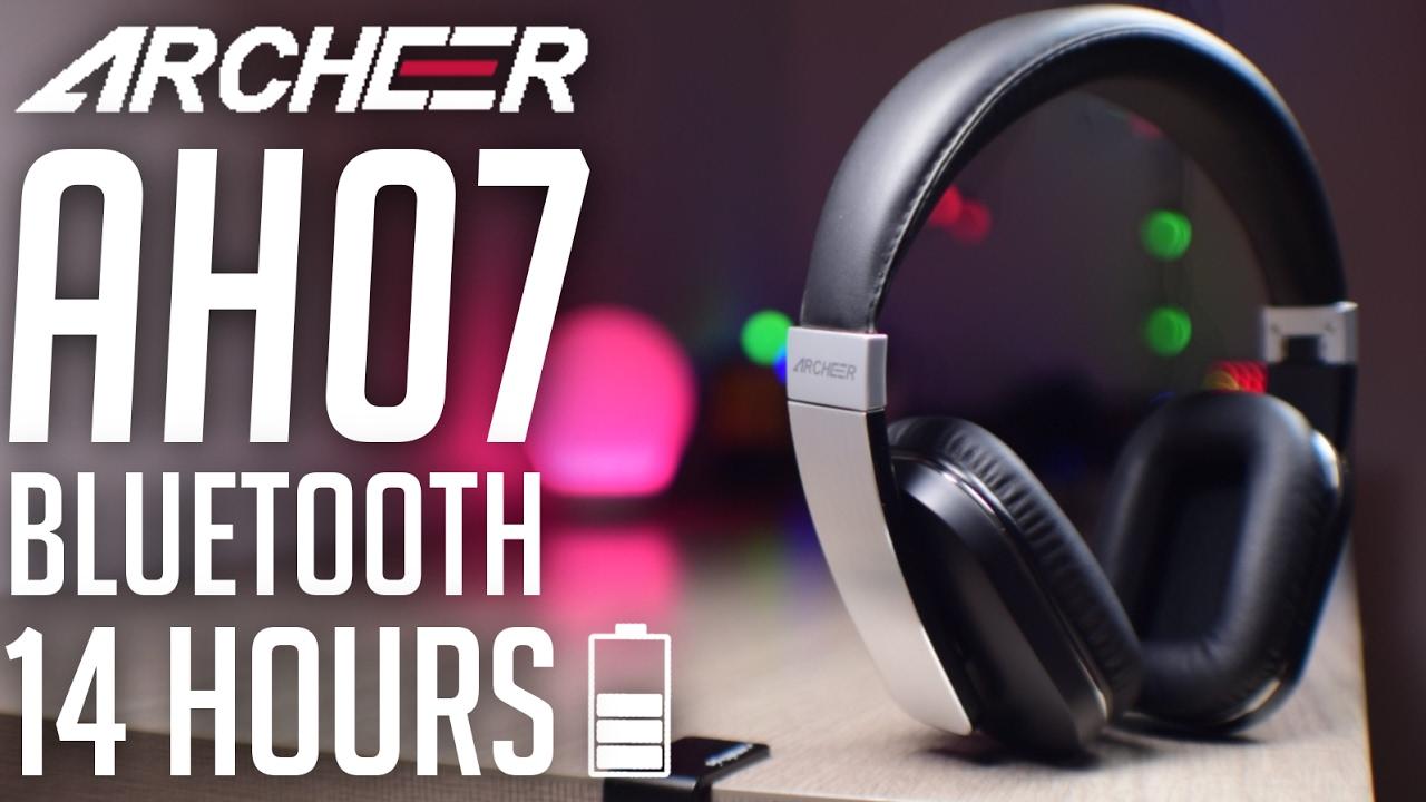 7787cfa6bd3 ARCHEER AH07 Bluetooth Foldable Headphones - Value For Money ! - YouTube