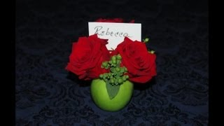 Table Setting Ideas With Granny Smith Apples : Specialty Centerpiece Ideas