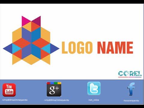 Vẽ logo Polygon cách điệu p3