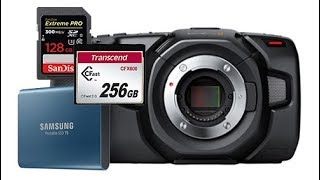 Blackmagic Pocket Cinema Camera 4K - Data Storage Ramblings