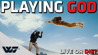 PLAYING GOD - They play a game while I play god - (Twitch chat decides) - Funny PUBG