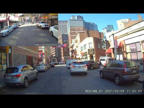 Rexing A1 Action Cam 3/9/21 Chinatown, Boston MA
