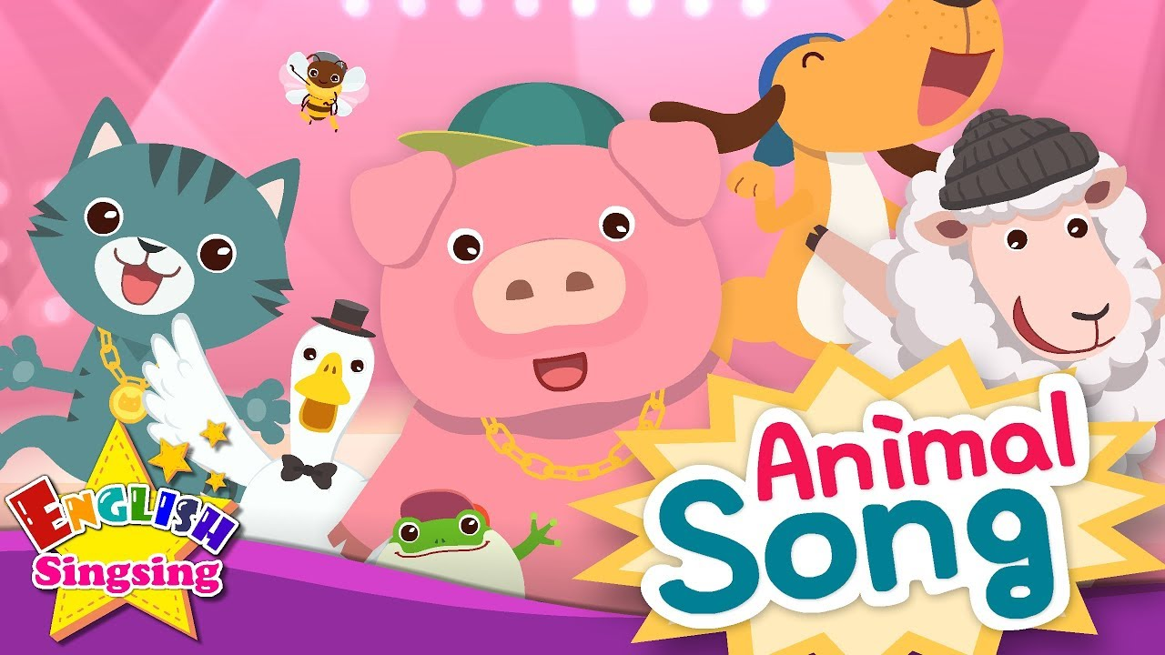 song animal learning english children educational