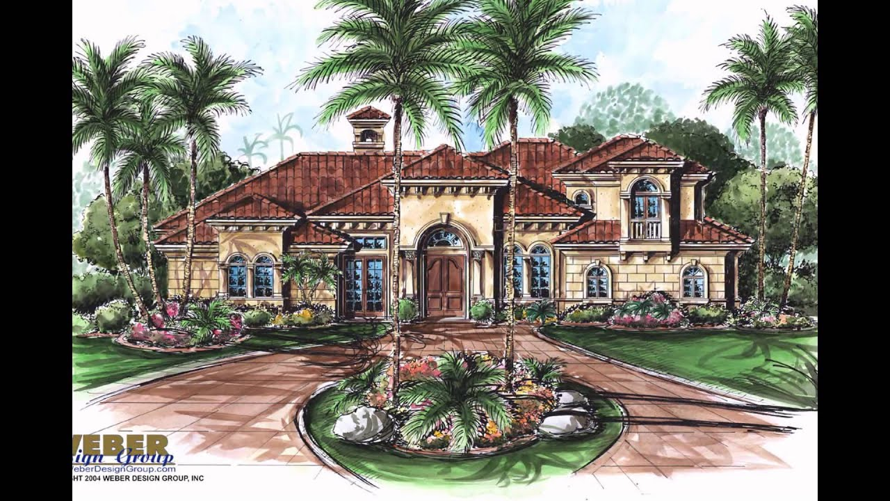 Mediterranean house plans youtube for Mediterranean style modular homes