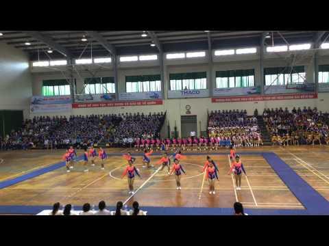 Đội Thể dục nhịp điệu trường Đại học Sư phạm đạt huy chương vàng