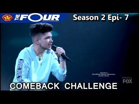 "Dylan Jacob raps ""A Milli"" Comeback Challenge Performance The Four Season 2 Ep. 7 S2E7"