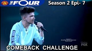 Dylan Jacob raps A Milli Comeback Challenge Performance The Four Season 2 Ep. 7 S2E7