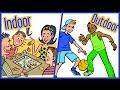Best Games For Kids | Indoor And Outdoor | Lehren Kids