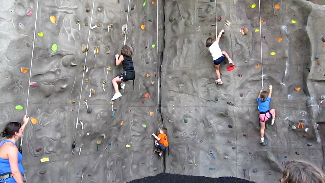 kids on climbing wall youtube. Black Bedroom Furniture Sets. Home Design Ideas
